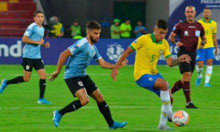 Uruguay y Brasil Sub-23 igualaron 1-1 por el Preolímpico de Tokio