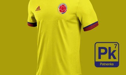 Así sería la nueva camiseta de la Selección Colombia