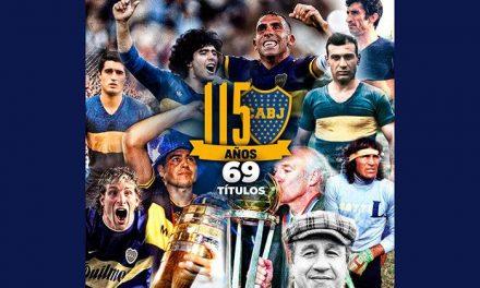 ¡Felices 115 Años Boca juniors !