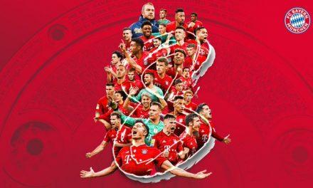 Bayern Múnich se coronó campeón de la Bundesliga