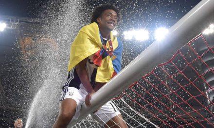 ¡Y llegó el noveno!Cuadrado campeón con Juventus.