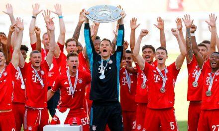 El Bayern, campeón