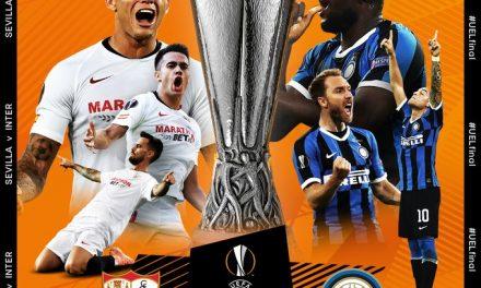 Inter de Milán vs. Sevilla: día y hora de la final de la Europa League 2019-20