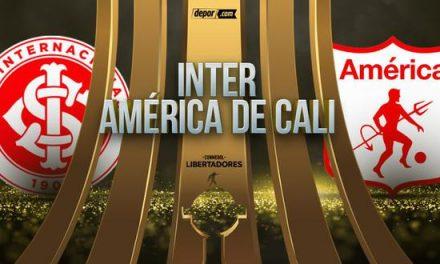 América de Cali sale por un triunfo ante el Inter en la Libertadores